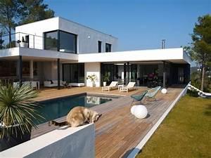 Terrasses En Vue : terrasse bois exotique brise vue bois patio ~ Melissatoandfro.com Idées de Décoration