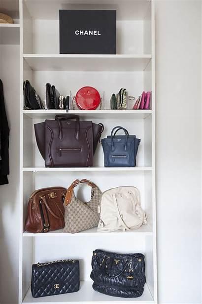 Closet Shelves Bag Organize Purses Bags Handbag