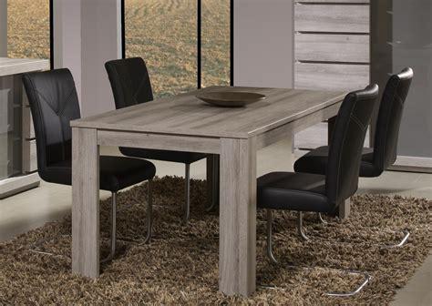 table de salle à manger contemporaine chêne mara jodie