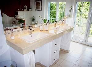 Platte Für Waschtisch : waschbecken mit marmorplatte eckventil waschmaschine ~ Markanthonyermac.com Haus und Dekorationen