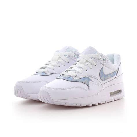 descuento nike air max 1 gs white royal tint white 1211311 tqboqcs nike air max 1 gs white royal tint white bei kickz