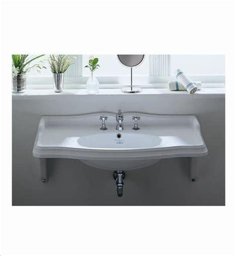 wall hung bathroom sink whitehaus ar864 mnslen wall mount bathroom sink