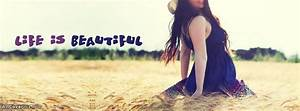 Beautiful Happy Girl Facebook Cover Photo