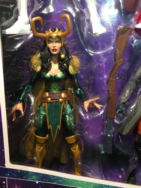 Exclusive Marvel Legends A Force Box Set Photos Loki Sif