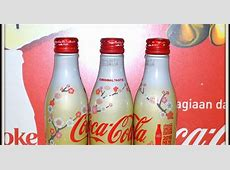 Aluminum Bottle Collector Club CocaCola 2018 New Year