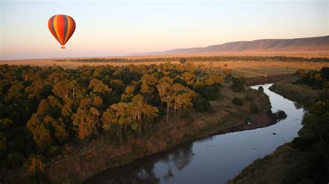 governors camp mara kenya masai wildlife planet balloon air safari africa governor moran il inpage