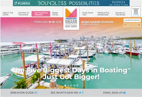 Miami Boat Show 2018 Tickets by Miami Boat Show 2018 Bahama Boat Works News Events