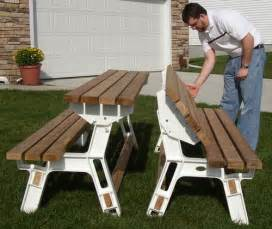benches that convert to picnic table home decoration club