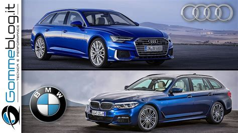 Bmw 5 Series Touring 2019 by 2019 Audi A6 Avant Vs 2018 Bmw 5 Series Touring Interior