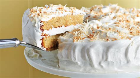 cuisine minute 39 s food cake with seven minute icing and coconut
