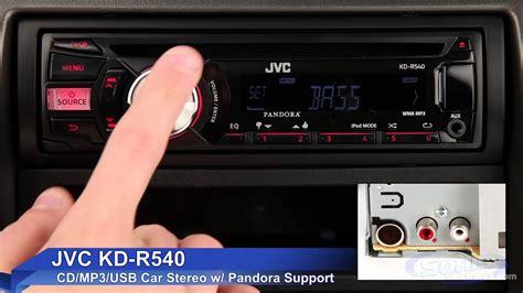 How To Get A Usb In Your Car by Jvc Kd R540 Car Stereo Ipod Iphone Ready W Pandora