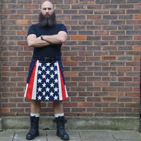 usa stripes skilt modern kilts for for sale