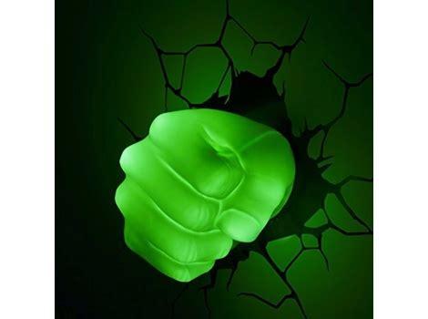marvel 3d hulk fist wall light dealbuyer uk ltd