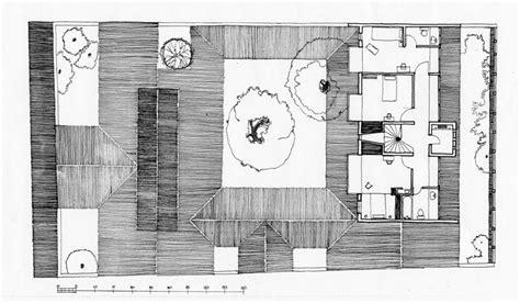 osmund  ena de silva house site plan showing landscape design archnet