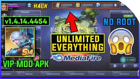 Download mobile legends for windows to play mobile legends: Mobile Legends VIP Mod Apk v1.4.14.4454(Unlimited