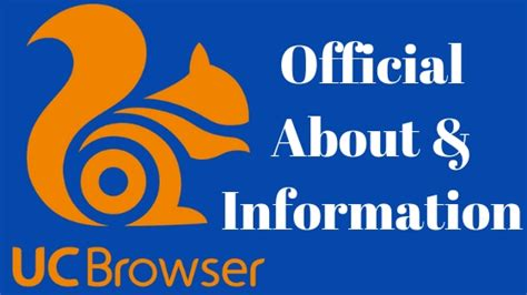 The application is suitable for all kind of windows. About UC Browser   Full Information About UC Browser   UC ...
