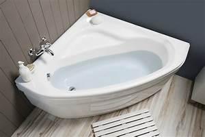 Baignoire D Angle Asymétrique : baignoire d 39 angle varia d 39 angle aquarine ~ Premium-room.com Idées de Décoration