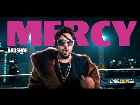 Badshah Mercy Feat Lauren Gottlieb 2017 New Song Lyrics