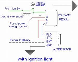 Alternator Voltage Regulator Wiring Diagram