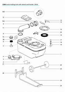 Thetford Cassette Toilet Spare Parts Australia