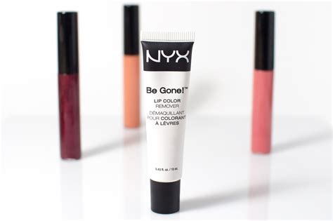 nyx lip colors see how nyx be lip color remover will make you