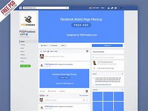 facebook new brand page 2016 mockup psd psdfreebiescom With facebook event photo template