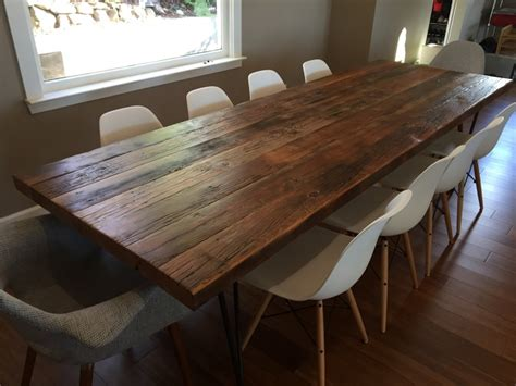 douglas fir dining table reclaimed old growth douglas fir dining table ambrose