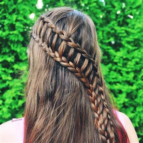 ladder braid hairstyles for long hair pinterest