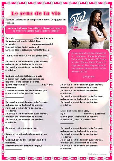 8 gratuit fle sens fiches p 233 dagogiques