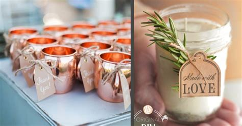 31 Diy Wedding Favors To Make For The Big Day
