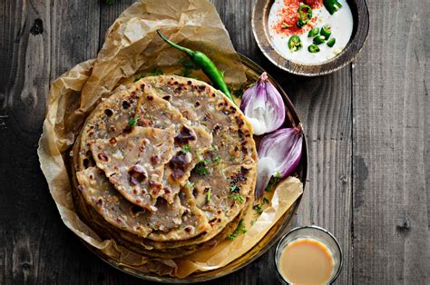 Sindhi Koki (sindhi Style Flaky Flatbread With Onions) By