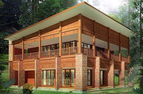 produsen pembuatan rumah kayu murah  desain menarik
