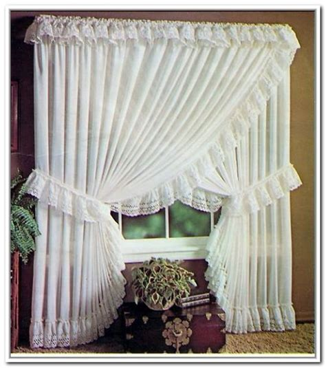 sheer priscilla criss cross curtains ideas for the house