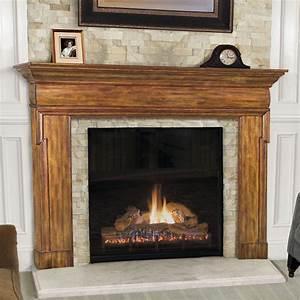 Wood, Mantels, Fireplace, Surrounds, And, Shelving