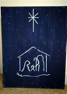 1000 images about Christmas Canvas on Pinterest
