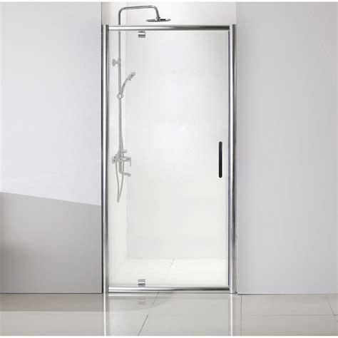 porte de pivotante 100 cm transparent