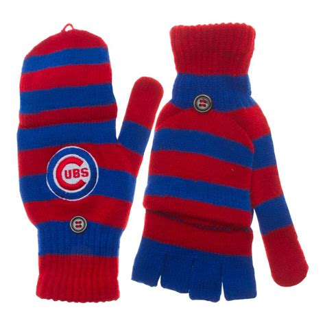 cubs winter hats scarves  gloves images