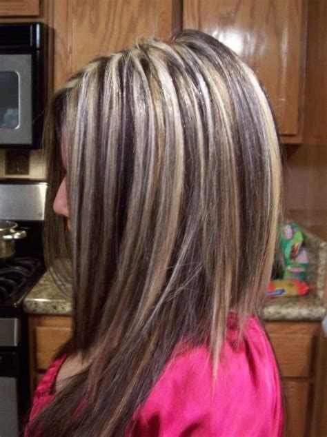 blonde highlights  brown lowlights  misc