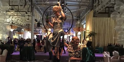Yahoo's Roaring 20s Holiday Party Pictures  Business Insider