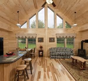 Modular Log Cabin Home Interiors