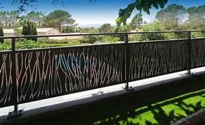 Brise Vue En Aluminium : brise vue en metal fabulous charming brise vue pour ~ Edinachiropracticcenter.com Idées de Décoration