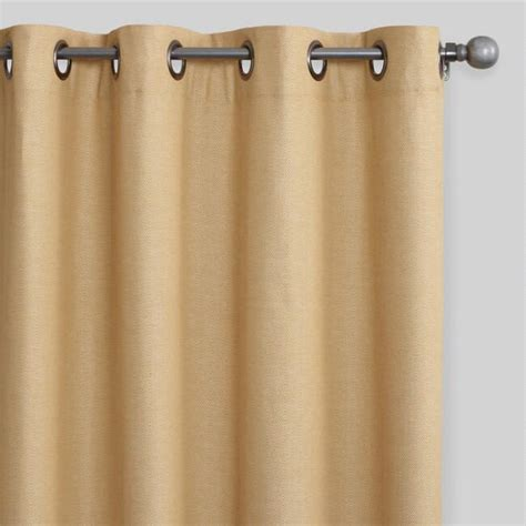 Therefore, you could consider them for a child's bedroom too. Narcissus Gold Cotton Herringbone Olson Curtains Set of 2 | World Market