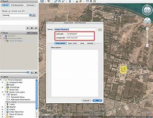 Coordinates Acquisition With Google Earth