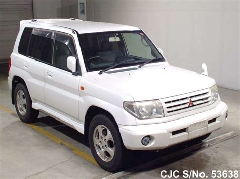 mitsubishi pajero io 1999 mitsubishi pajero io white for sale stock no 53638