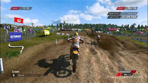 The Official Motocross Videogame Gameplay (pc Hd