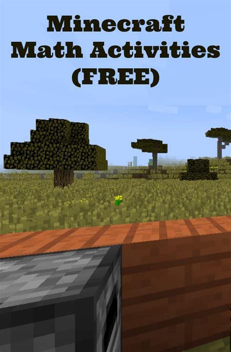 Free Minecraft Math Worksheets