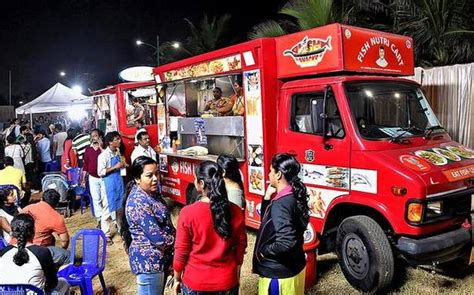 Food Truck Festival A Roaring Hit  The Hindu