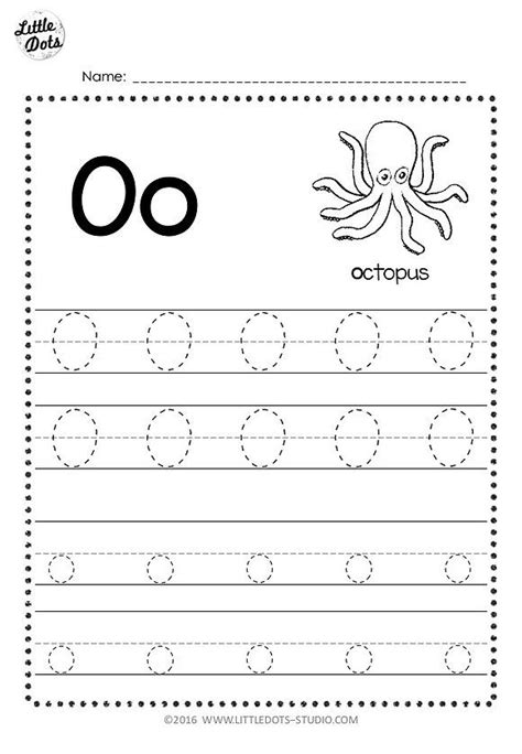 letter oo tracing worksheets  images tracing