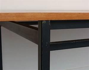 Esstisch Für 2 : esstisch von marcel gascoin f r alveole 1959 bei pamono kaufen ~ Markanthonyermac.com Haus und Dekorationen