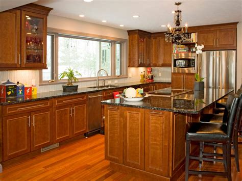 kitchen designs with wood cabinets kitchen cabinet styles and trends hgtv